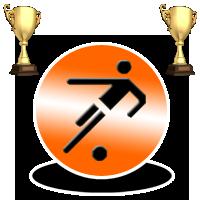 Winning trophy logo