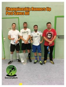 POST SAVES ALL - Salisbury Thurs Sept 2017 CHAMP Runners Up