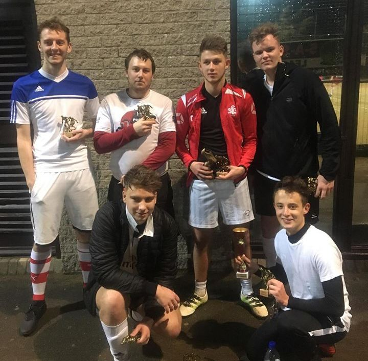 SCOREGASMS - Shaftesbury Wednesday PREMIERSHIP Runners Up Oct 2017