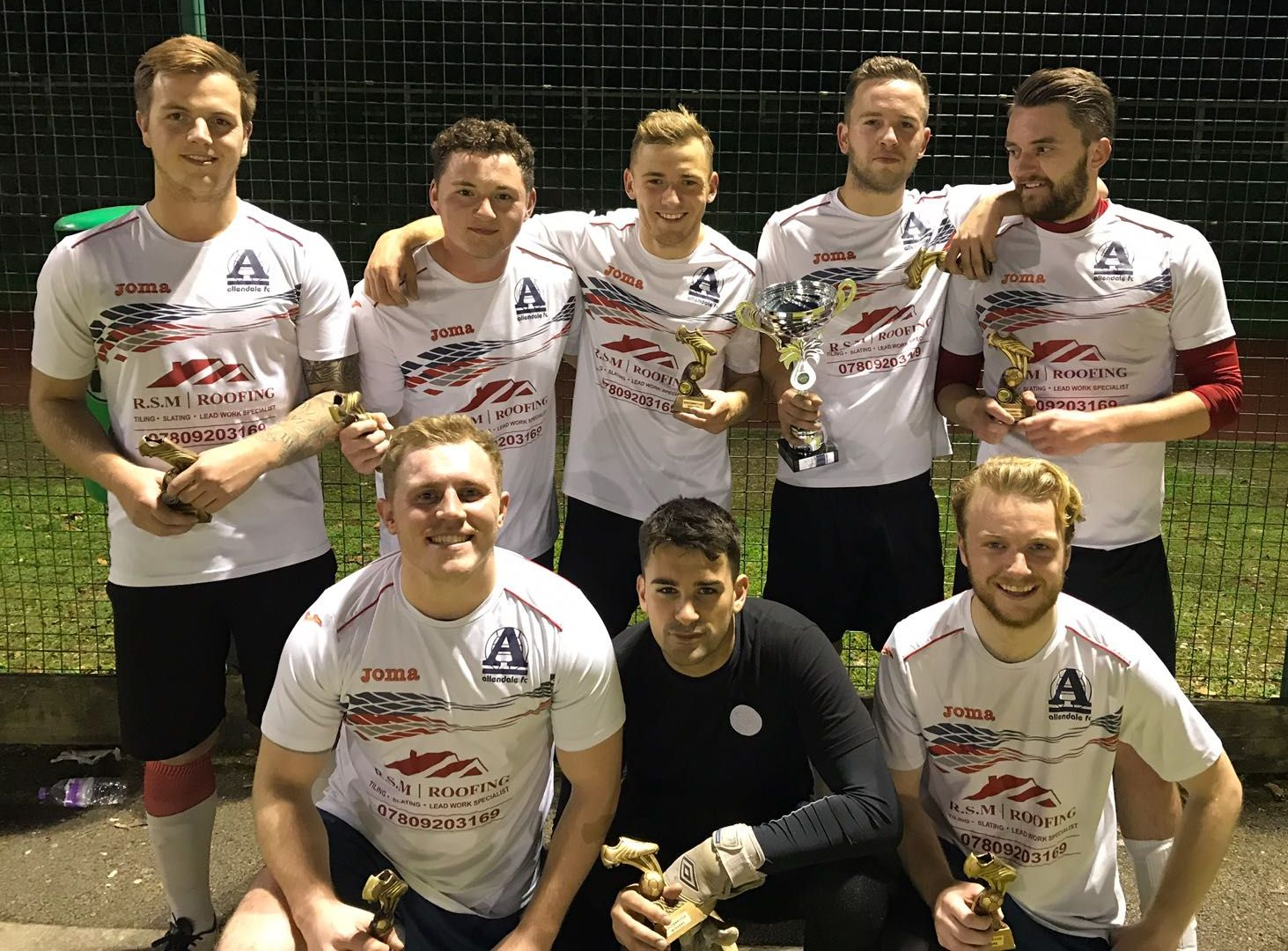 GAMBLERS ANONYMOUS - Wimborne PREMIERSHIP Winners October 2017